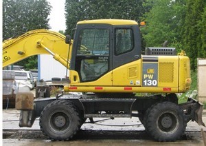 Komatsu PW130-7K Wheeled Excavators Service Shop Manual(SN:K40001 AND UP)