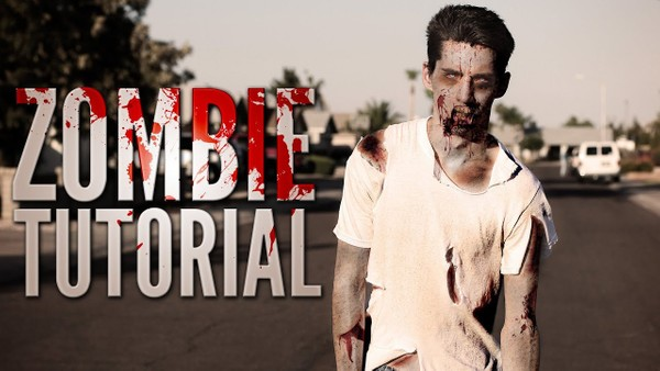 Zombie Tutorial (PSD Template)