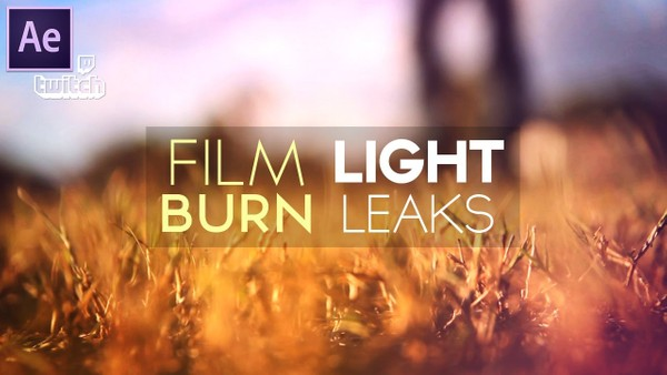 Film Burn & Light Leaks (Project Files)