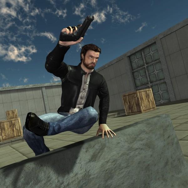 3D Model - Male Action Model