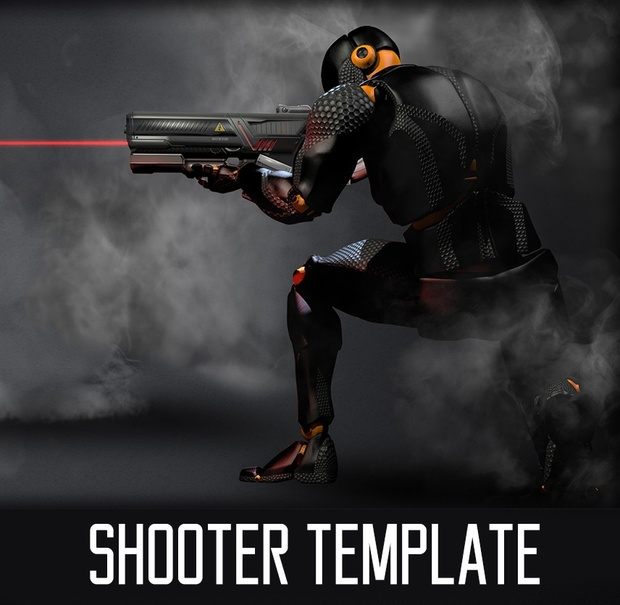 Shooter Template for Unity
