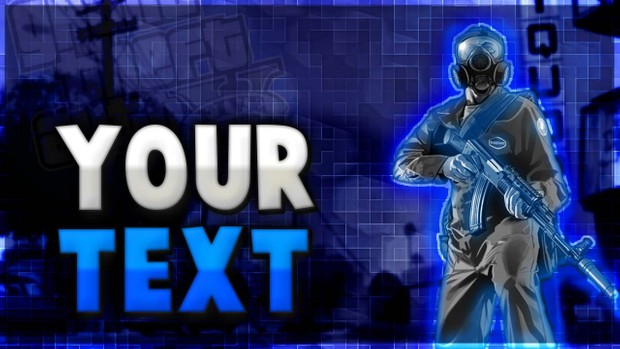 Free Gaming Thumbnail | Photoshop Template (Free Gaming Thumbnail!)