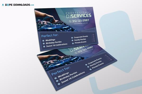 Dj Services Flyer Template