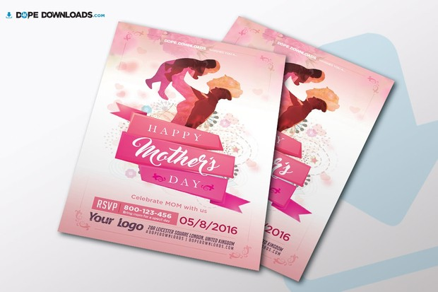 mother s day flyer template dope downloads