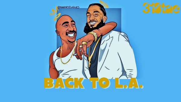 Back to L.A. - Exclusive Rights Download (Prod. 318tae) zip
