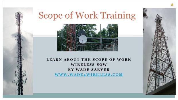 Wireless Scope of Work Training Video
