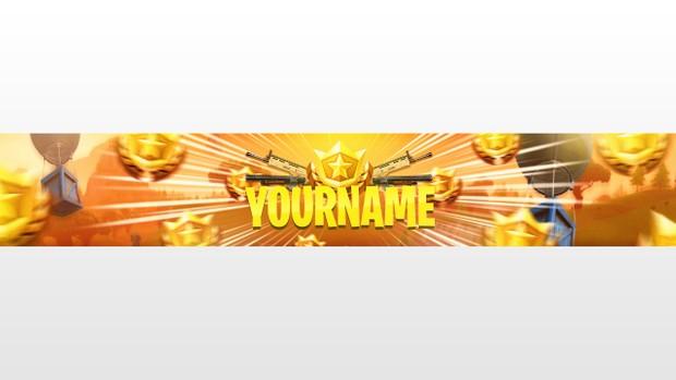 Fortnite Banner Template 6