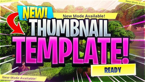 Fortnite Thumbnail Template 13