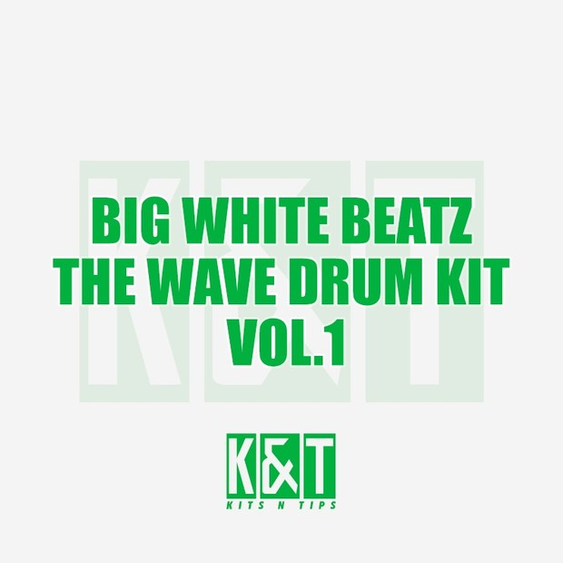 Big White Beats - The Wave Drum Kit Vol 1