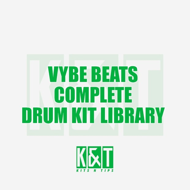 Vybe Beats Complete Drum Kit Library