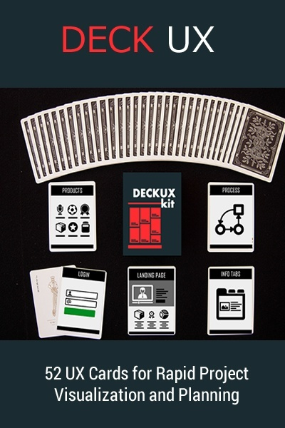 DECK UX  - DESIGNER ESSENTIALS - CARD SHUFFLING KIT