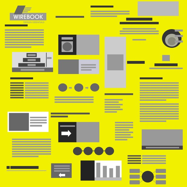 WIREBOOK - Essential Wireframing KIT for Presentations, eBooks, Web Pages and UX maps