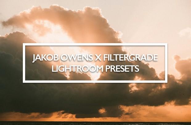 Jakob Owens x Filter Grade Lightroom Presets