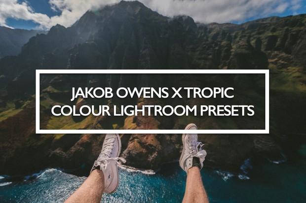 Jakob Owens x Tropic Colour Lightroom Presets