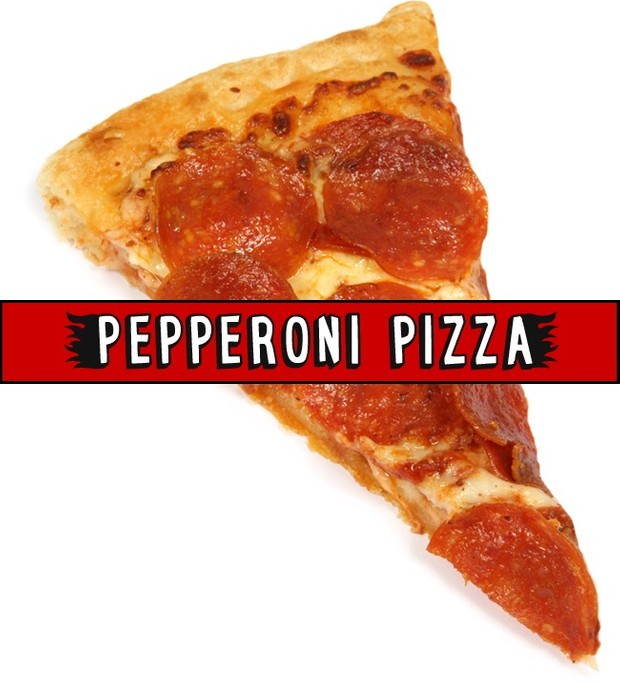 Pepperoni Pizza font