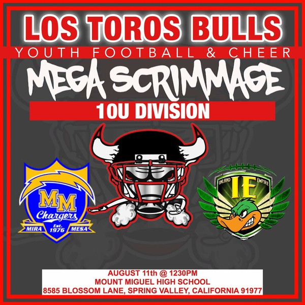 10u Mega Scrimmage 8-11-18