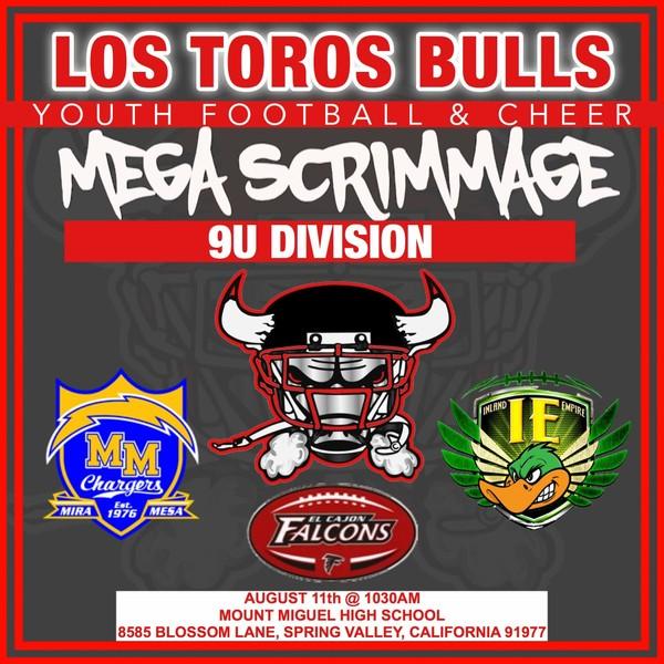 9u Mega Scrimmage 8-11-18
