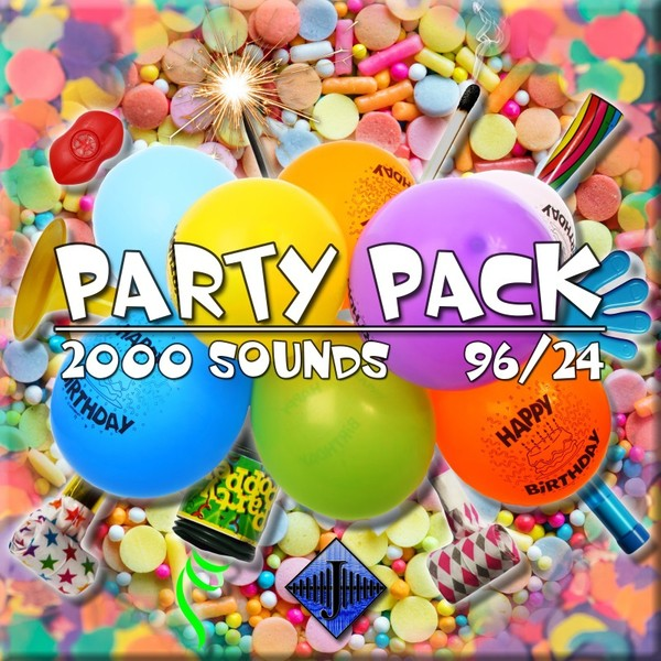 Party Pack - BALLOONS (96)