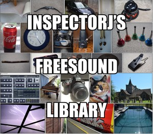 InspectorJ's Freesound Library