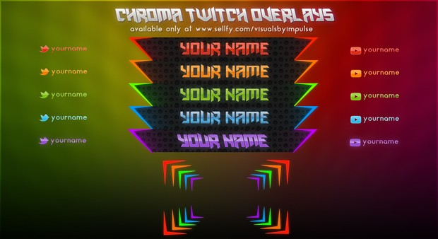 Chroma Overlays Package
