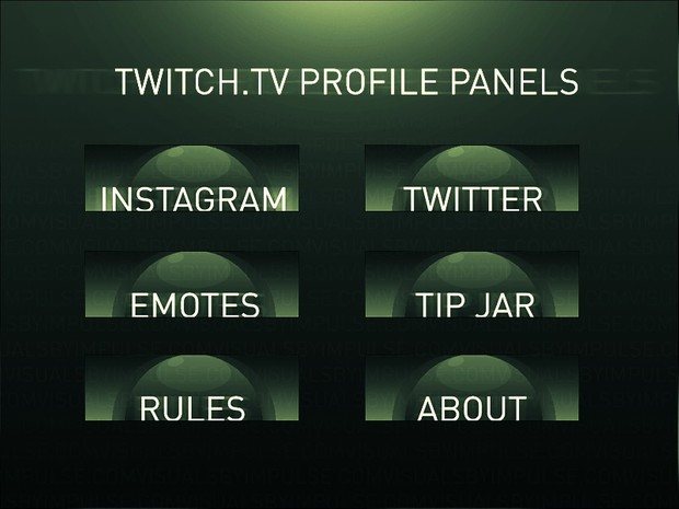 Simple Orb Twitch Panels