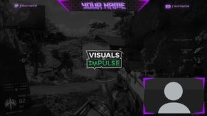 Purple Twitch Overlay
