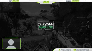 Clean White + Green Overlay Package