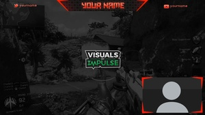 Red Twitch Overlay