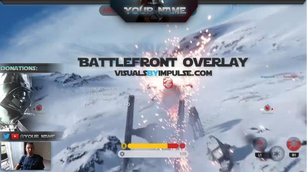 Star Wars Battlefront Stream Overlay
