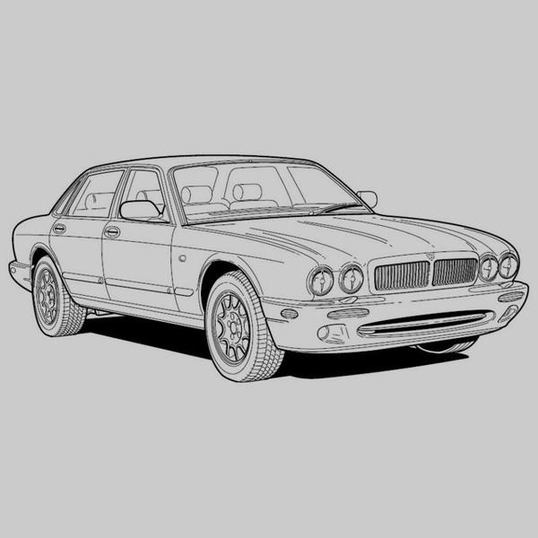 Jaguar Xj Series Sedan 1998 - Electrical Guide