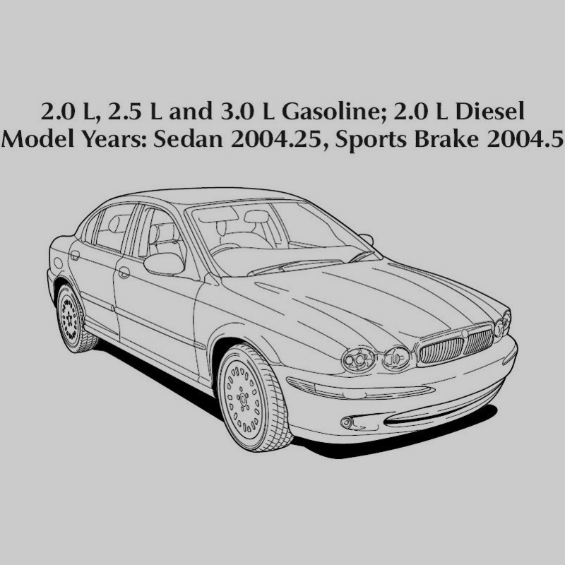Jaguar X-Type 2004 - Electrical Guide - Wiring Diagrams on