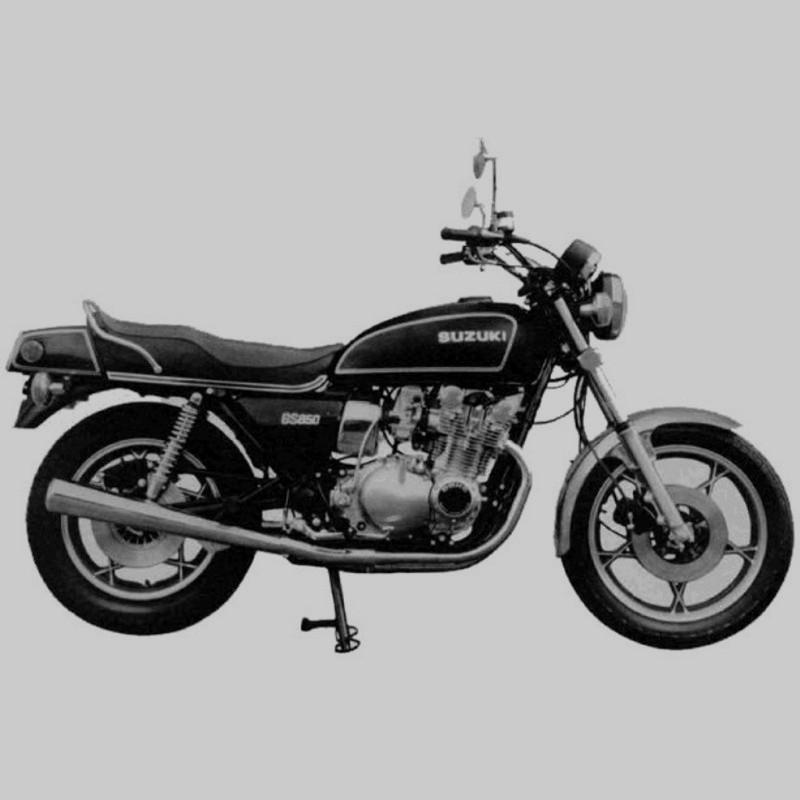 Suzuki Gs850g - Service Manual    Repair Manual