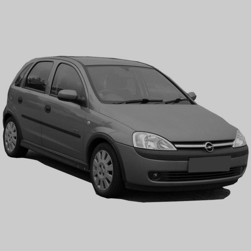 Opel Corsa C - Schemas De Cablage Electrique