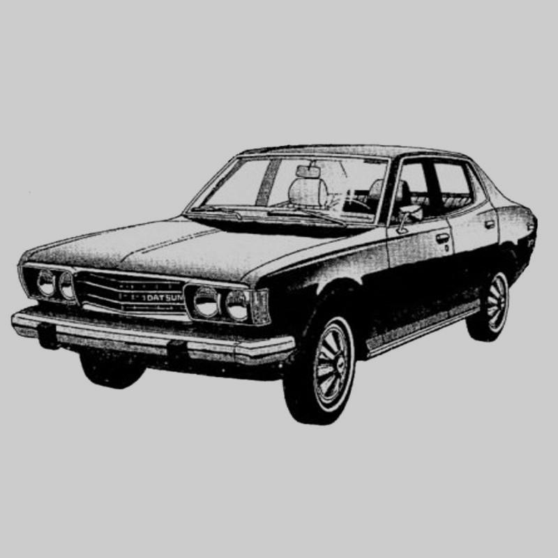 Datsun 610 - Service Manual    Repair Manual