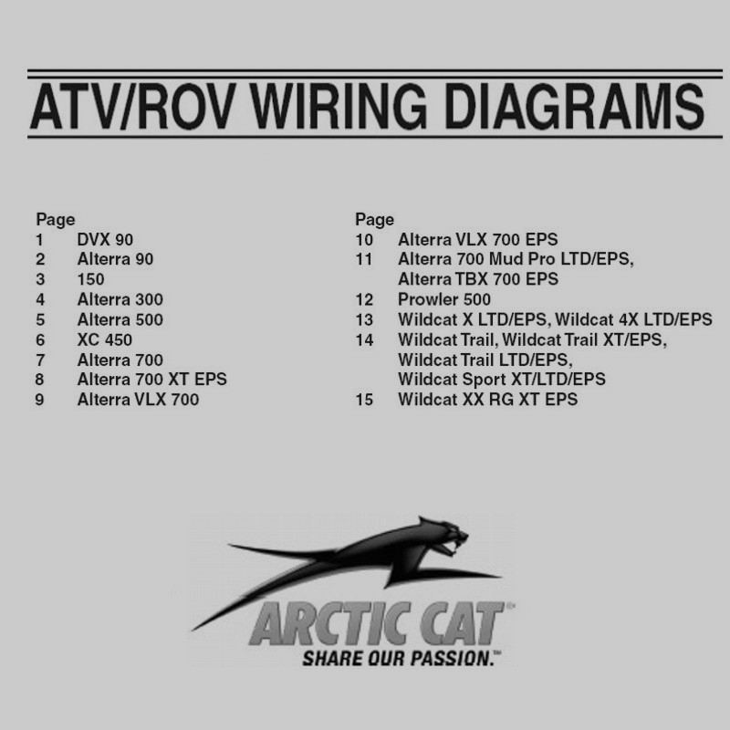Arctic Cat Atv 4564 Atv Wiring Schematic