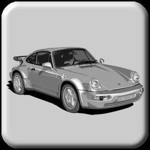 1989 porsche 911 carrera 4 service info wiring diagrams manual 2 vol set  worn 89 other