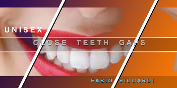 CLOSE TEETH GAPS - With Ultrasonic