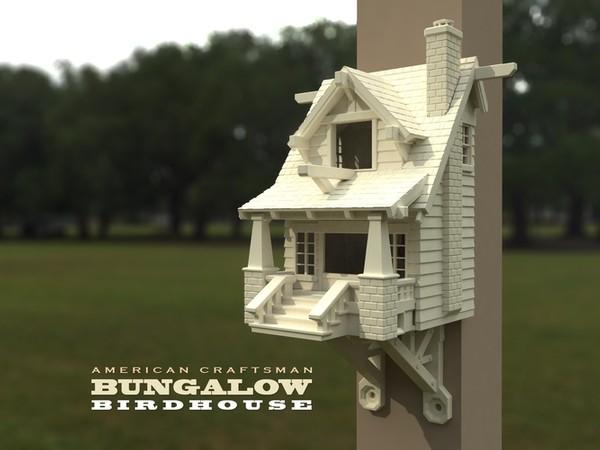 Realistic Custom Bird House