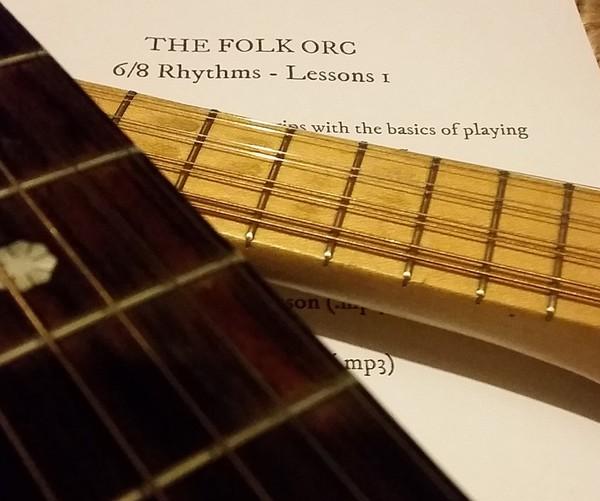 The Folk Orc Digital Lessons - 6/8 Rhythms Lesson 1
