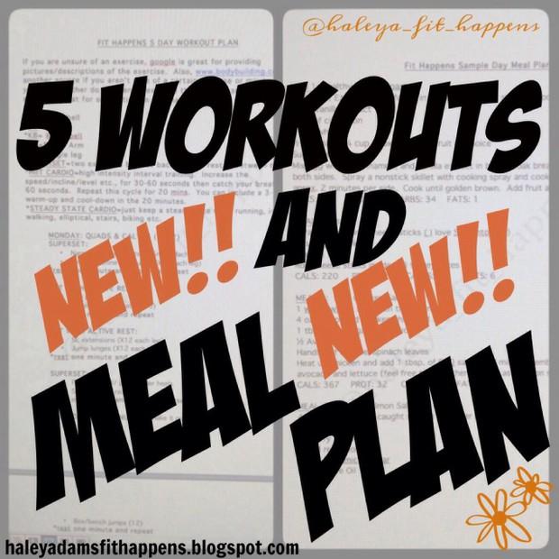 Meal Plan 11/3-11/9