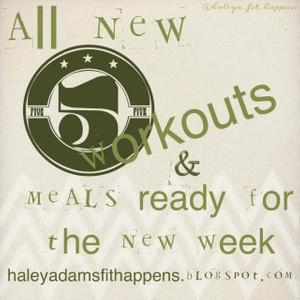 Meal plan 10/7-10/12