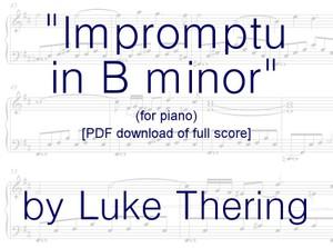 Impromptu in B minor (SHEET MUSIC .PDF)