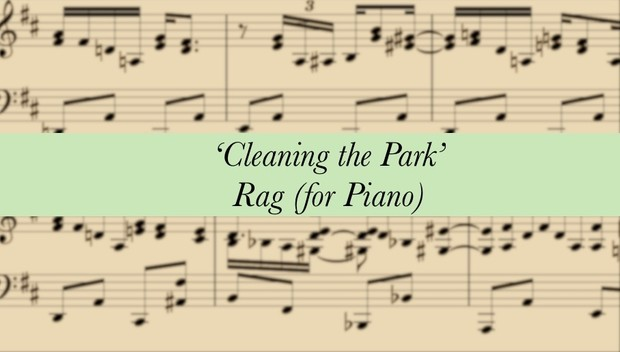 'Cleaning the Park' Rag (from Mop Dog)