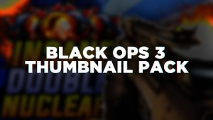 Call Of Duty Black Ops 3 Thumbnail Template [Basic]