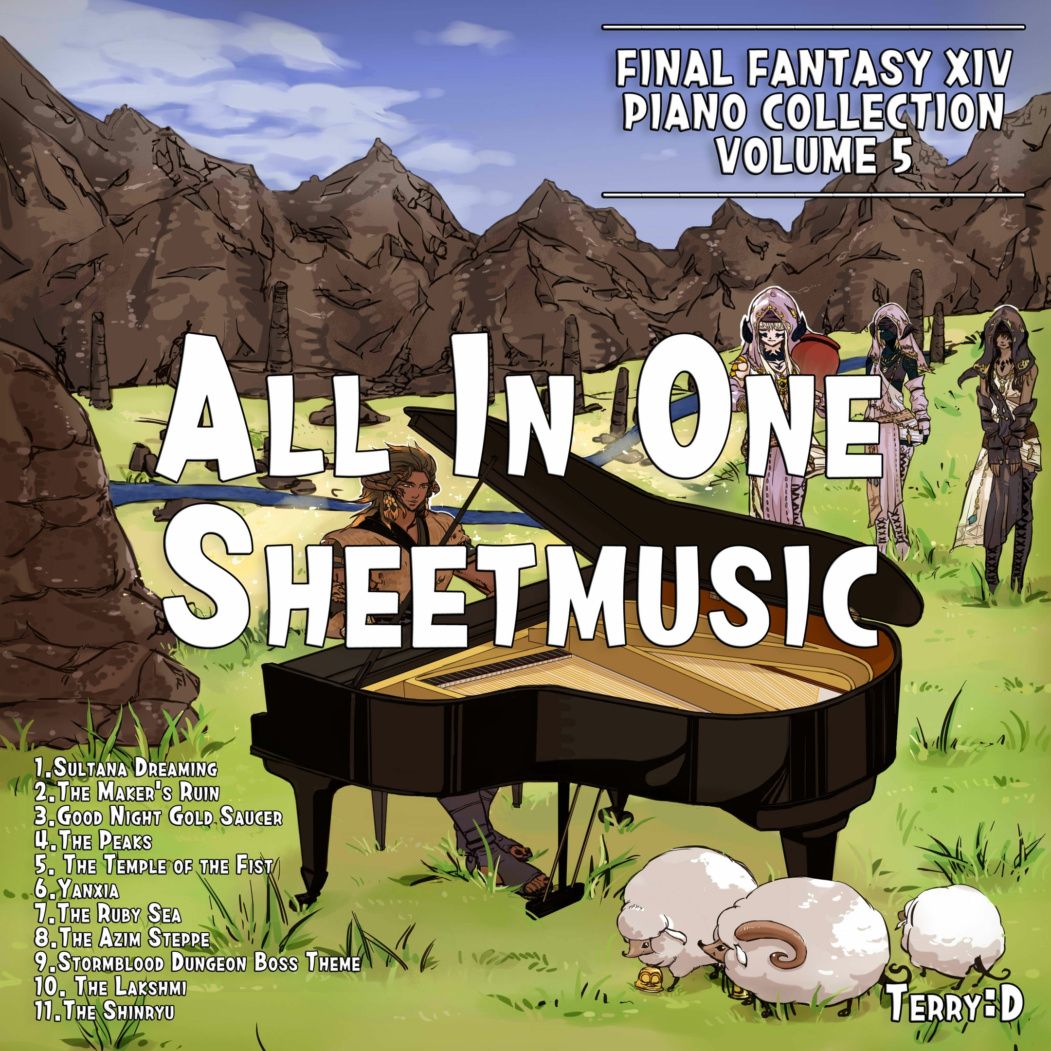 Final Fantasy XIV Piano Collection Vol.5 By Terry:D. A