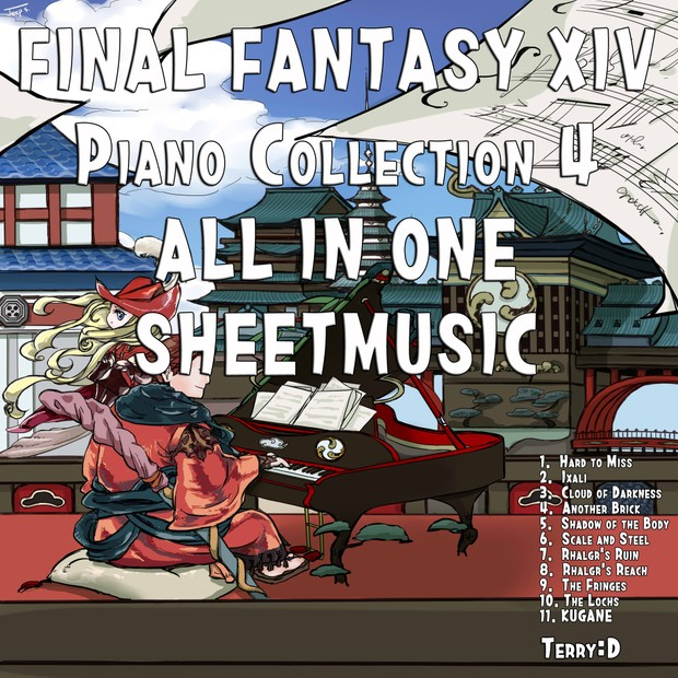 Final Fantasy XIV Piano collection vol.4 All in one Sheetmusic
