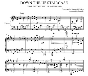 Down the Up staircase(FFXIV Antitower theme) Arr.by Terry:D
