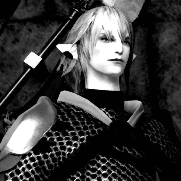 Haurchefant Smiles (Cloud Smiles from FFVII Arr.by TerryD) for piano solo