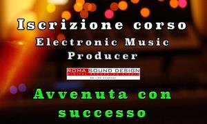 Iscrizione corso Electronic Music Producer