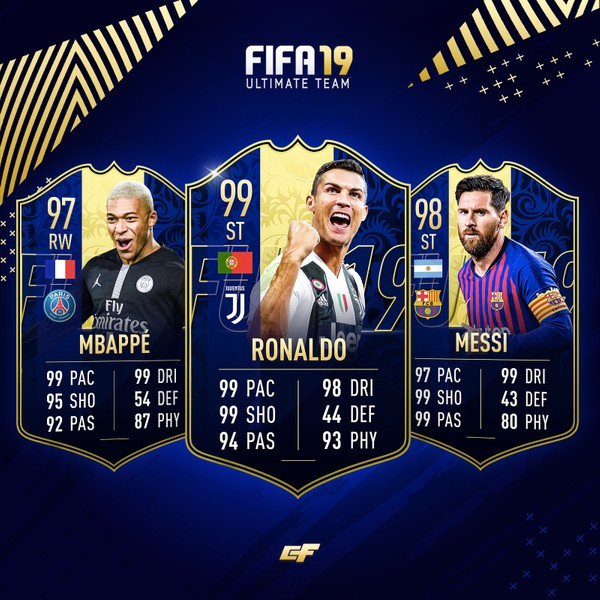 FIFA 19 TOTY Photoshop Pack